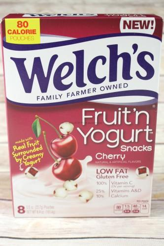 Welch's Fruit'n Yogurt Snacks