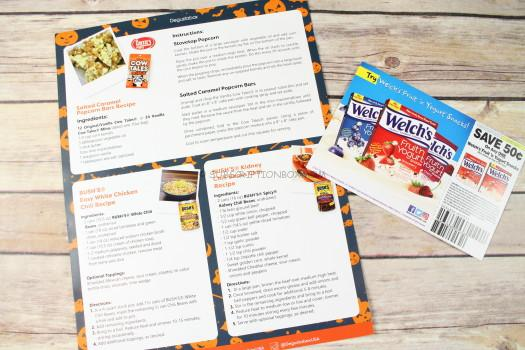 Recipes and Coupon