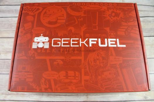 Geek Fuel October 2017 Review