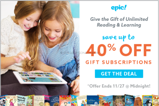 Epic! Black Friday 2017 Coupons