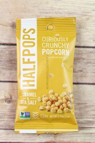 Halfpops Caramel & Sea Salt Crunchy Popcorn