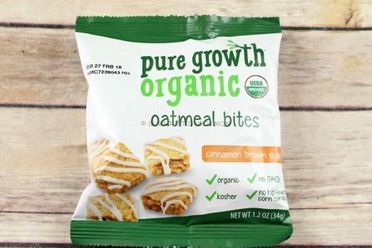 Pure Growth Organic Oatmeal Bites