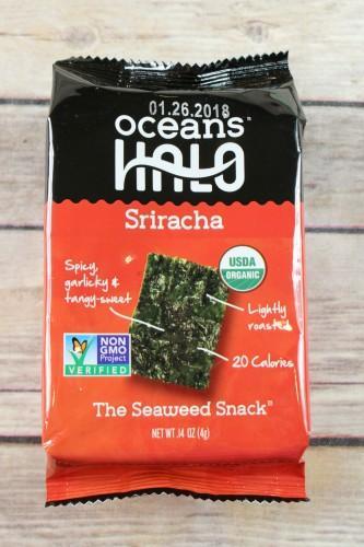 Ocean's Halo Sirracha Seaweed Snacks