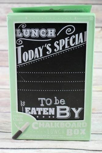 Chalkboard Lunch Box