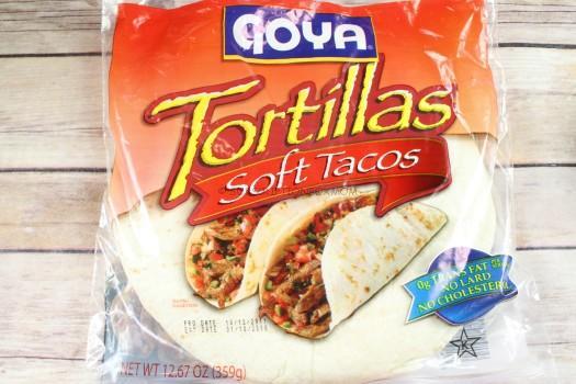 Goya Tortillas Soft Tacos