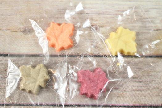 Artisan Sugars Fall Leaf Sugar Shapes