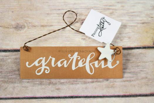 Primitive by Kathy Mini Grateful Sign