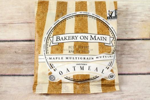 Bakery On Main Maple Multigrain Muffin Instant Oatmeal