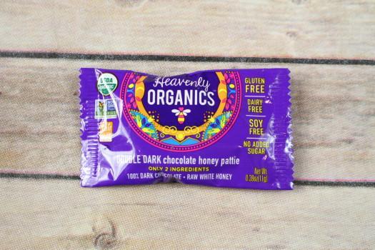 Heavenly Organics Double Dark Chocolate Honey Pattie