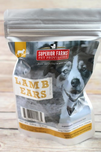 Superior Farms Pet Provisions Lamb Ears
