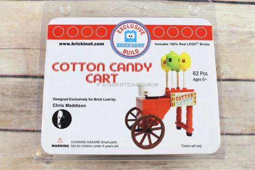 Cotton Candy Card Exclusive 100% LEGO Build Designed by Chris Maddison