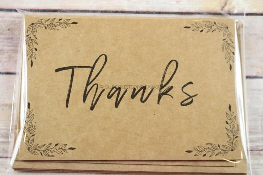 Thank You Cards (Parent Gift)
