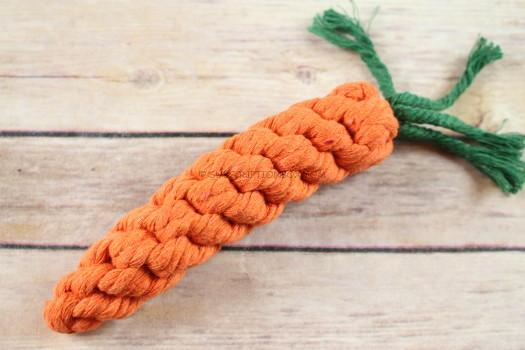 Doggie Trends Carrot Rope Toy