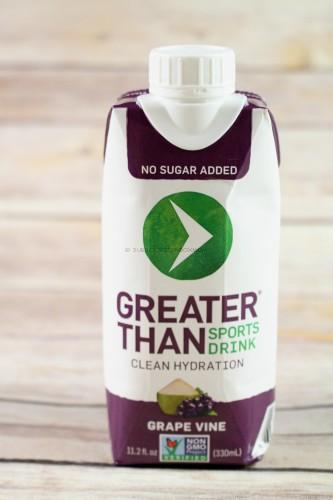 Greater Than Sports Drink in Grape Vine