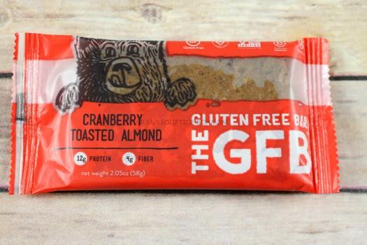 The Gluten Free Bar Cranberry Toasted Almond Bar