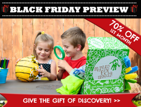 Green Kid Crafts Black Friday 2017 Coupons
