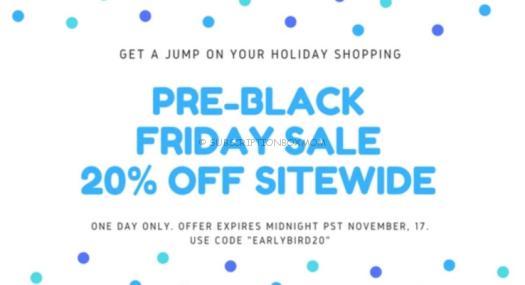 Ecocentric Mom Pre Black Friday 2017 Coupon