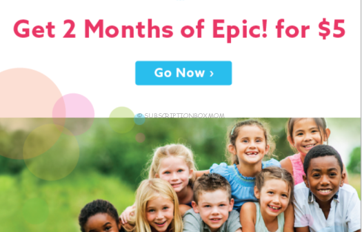 Get 2 Months of Epic! for $5