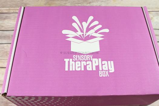 Sensory TheraPlay Box November 2017 Review