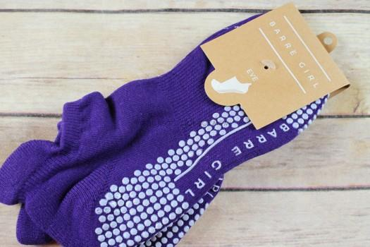 Barre Girl Grip Socks