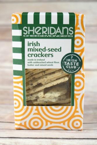 Sheridan's Cheesemongers Mixed Seed Crackers