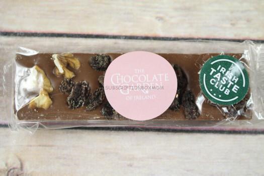 The Chocolate Garden of Ireland Milk Chocolate Fruit & Nut Bar