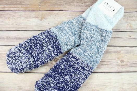 Pointe Studio Aloe Infused Ombre Cozy Socks