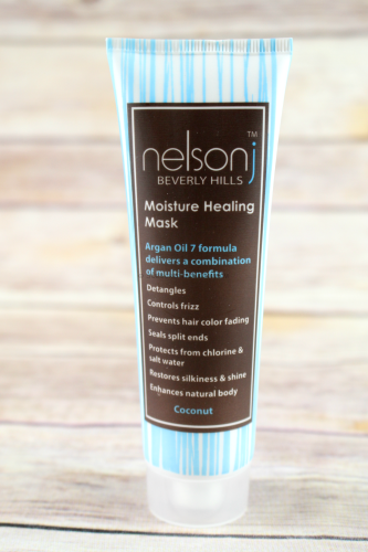 Nelson J. Beverly Hills Moisture Healing Hair Mask in Coconut