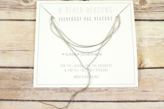 8 Other Reasons 9 Lives Choker (Silver or Rose Gold