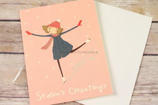 Pencil Joy Holiday Skating Woman