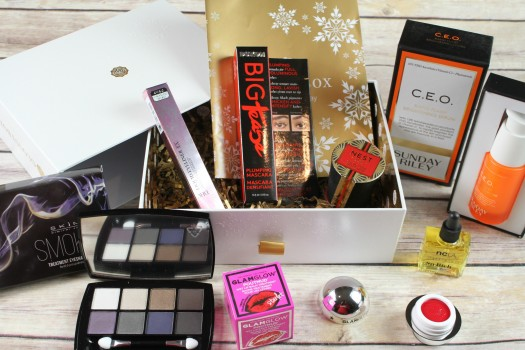 Glossybox Holiday Limited Edition 2017 Box Review