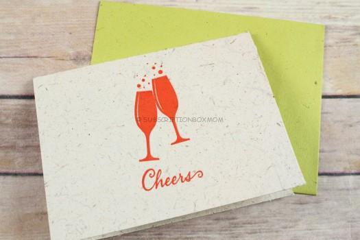Elephant Poo Greeting Card