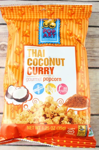 Pop Art Thai Coconut Curry Gourmet Popcorn