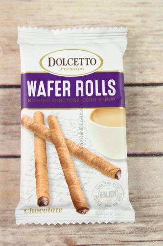 Dolcetto Chocolate Wafer Rolls