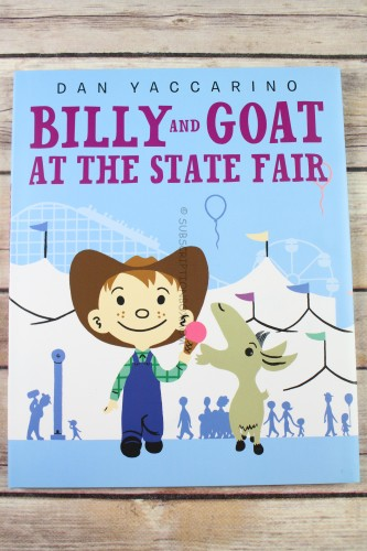 Billy and Goat at the State Fair Library Binding by Dan Yaccarino