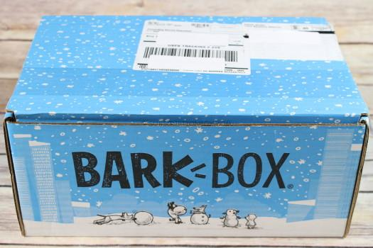 BarkBox December 2017 Review