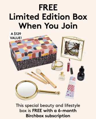 Free Limited Edition Box
