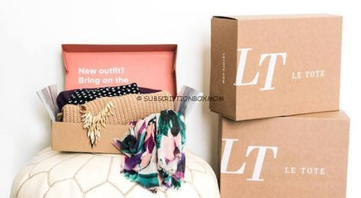 Le Tote 75% off 1st Month