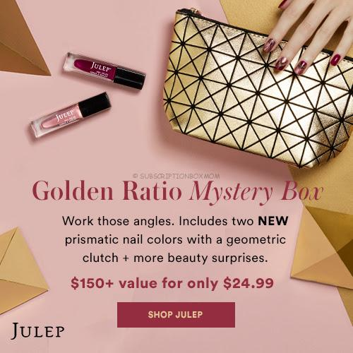 Julep December 2017 Golden Ratio Mystery Box