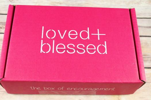 Loved & Blessed New Subsciber Box Review