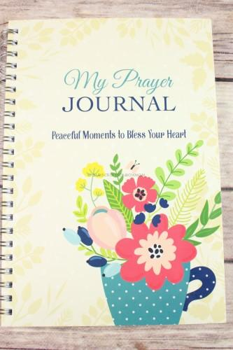 My Prayer Journal Peaceful Moments to Bless Your Heart