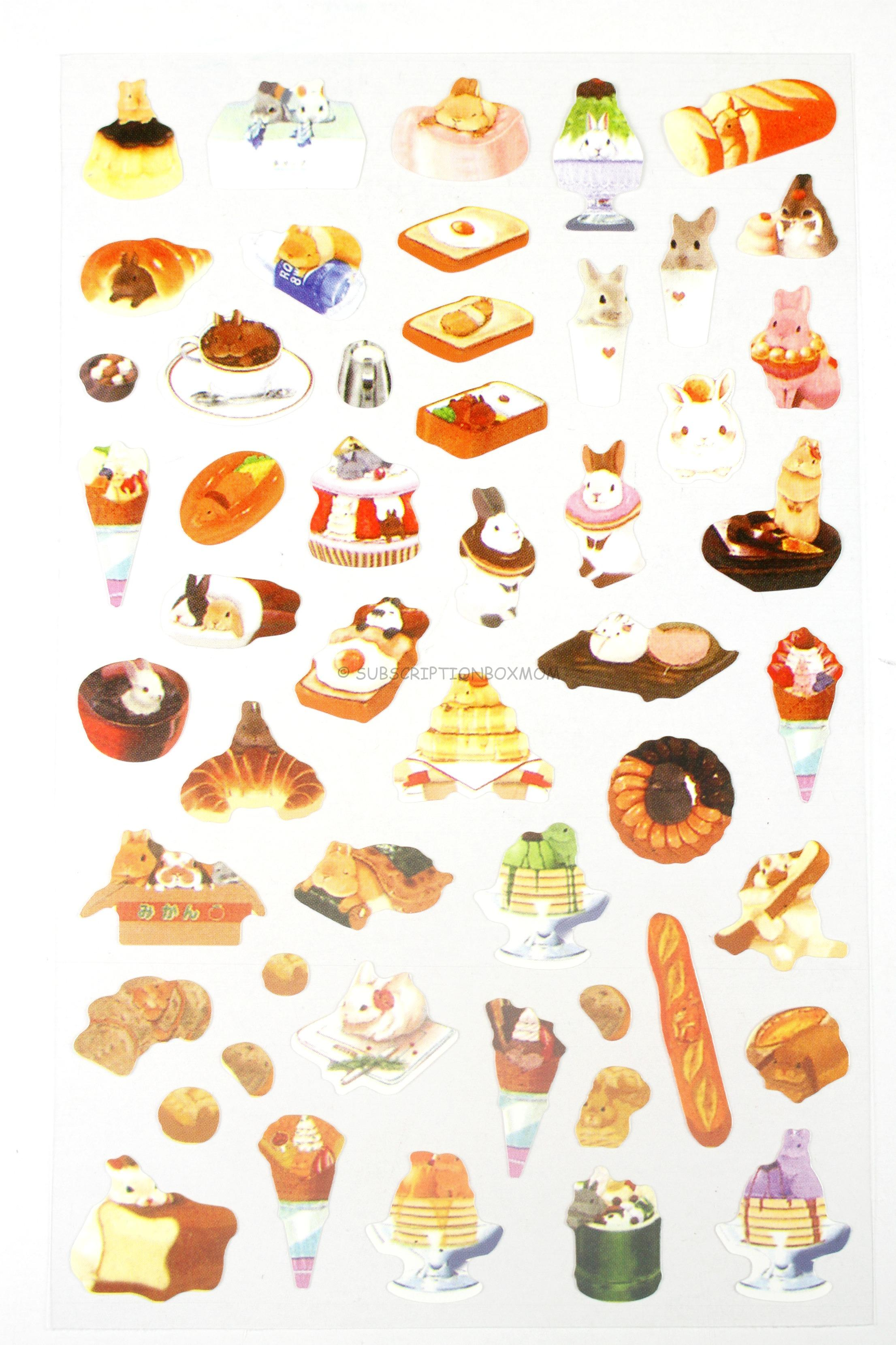 Desserts and Bread Stickers