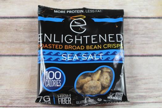 Enlightened Roasted Bread Beans Crisps Sea Salt