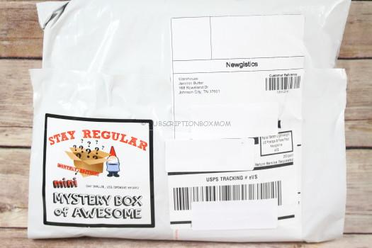 Mini Mystery Box of Awesome January 2018 Review