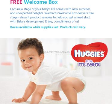 Free Walmart Registry Box