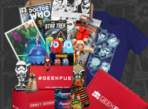 Geek Fuel January 2018 Spoilers