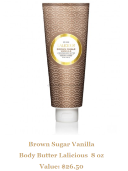 Brown Sugar Vanilla Body Butter Lalicious