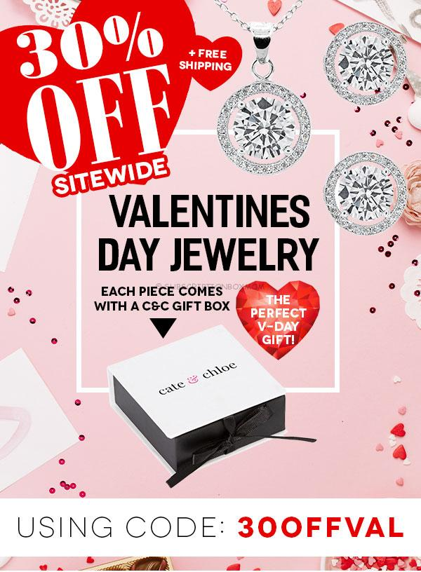 Cate & Chloe Exclusive Valentine's Day Offers
