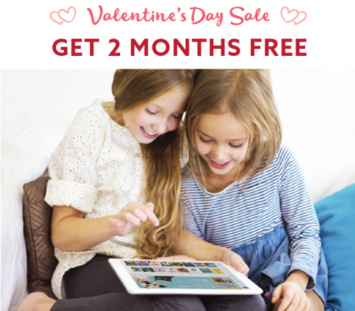 Epic! Valentine's Day 2018 Coupon