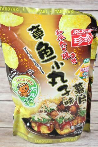 Jack N Jill Potatoe Chips Takoyaki Flavor
